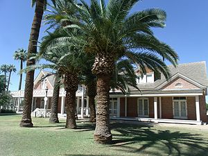 Sahuaro Ranch - Main mansion of the Sahuaro Ranch, built in 1886