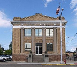 Glendive, Montana - Glendive City Hall