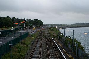 Glounthaune railway station - Glounthaune railway station in 2008