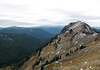 Goat Rocks Wilderness - Image: Goat Rocks Wilderness Flickr Joe Parks (2)