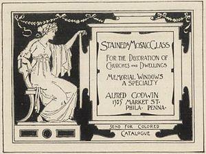 Alfred Godwin - Godwin advertisement, 1892