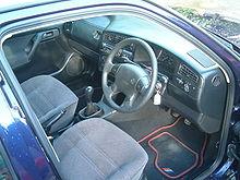 Volkswagen Golf Mk3 GL interior