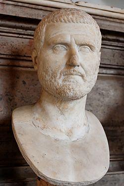 White statue of Gordian I