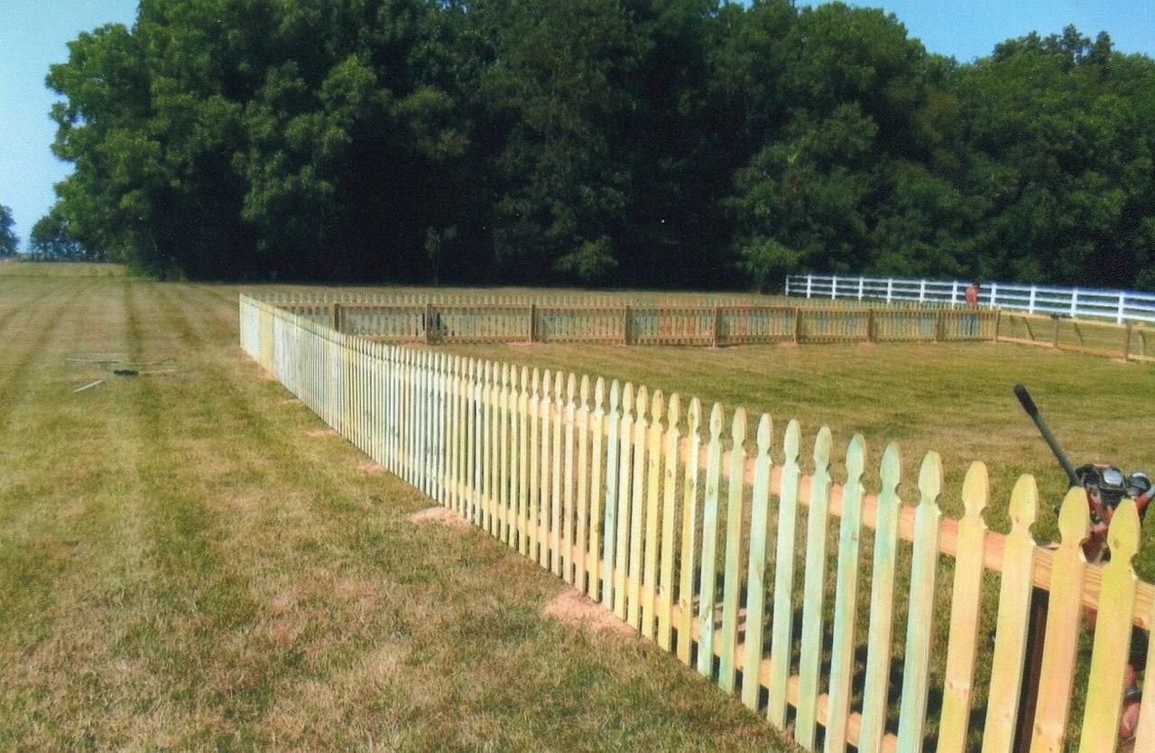 Staket - Wikiwand : vitt staket : Staket