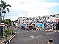 Graffiti overran these mural - panoramio.jpg