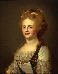 Portrait of Empress Maria Fiodorovna (copy)