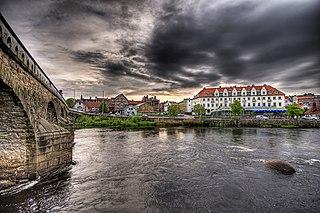 Falkenberg Place in Halland, Sweden