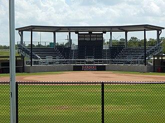 Lamar Softball Complex - Image: Grandstands image number 3