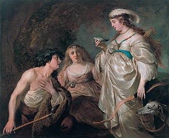 Agnes Etherington Art Centre - Image: Granida and Daifilo, by Jacob Backer