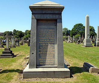 Hugh Owen Thomas - Memorial in Toxteth Park Cemetery