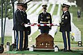 Graveside service for U.S. Army Air Forces 2nd Lt. Marvin B. Rothman at Arlington National Cemetery (34151699211).jpg