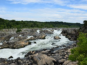 United States East Coast 300px-Great_Falls_of_the_Potomac_River_-_NPS