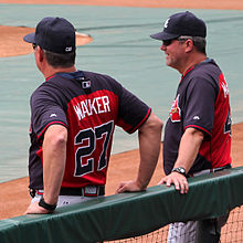Greg Walker and Roger McDowell before a 2014 Braves game.jpg
