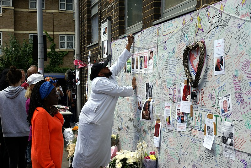 Grenfell Tower tribute wall.jpg