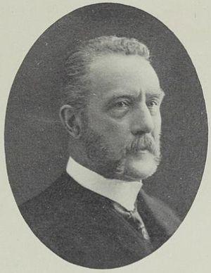 Ole Paus (businessman) - Image: Grosserer Ole Paus (1846 1931)