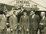 "Group on occasion of the testing of the ""Genairco"", the first all-Australian built plane, 1930 (4361740862).jpg"