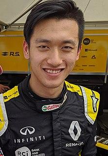 Guanyu Zhou Chinese racing driver