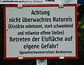 GuentherZ 2013-05-22 0562 Wien Warntafel Eisflaechen.JPG