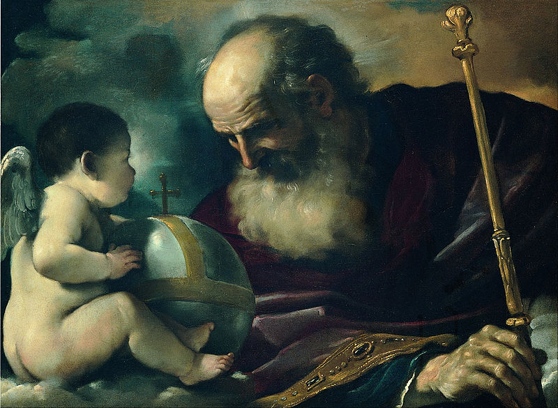 Guercino (Giovan Francesco Barbieri) - God the Father and Angel dans immagini sacre 800px-Guercino_%28Giovan_Francesco_Barbieri%29_-_God_the_Father_and_Angel_-_Google_Art_Project