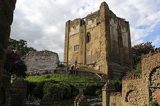Guildford Castle castle in Guildford, Surrey, England