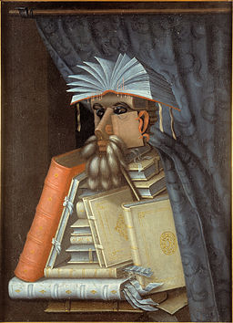 Guiseppe Arcimboldo, copy?, after? - The Librarian - Google Art Project