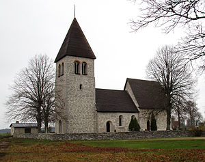Guldrupe Church - Image: Guldrupe kyrka Gotland