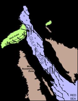 Gulf of Suez Rift - Wikipedia