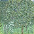 Gustav Klimt - Rosebushes under the Trees - Google Art Project.jpg