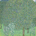 Gustav Klimt - Rosebushes under the Trees - Google Art Project.jpg