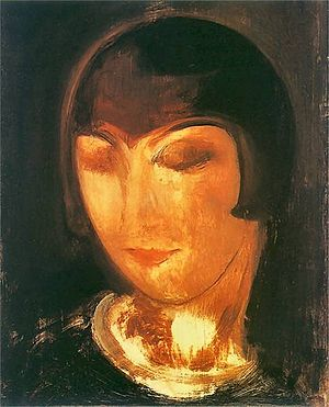 Alice Prin - Alice Prin (Kiki), c. 1920, painted by Gustaw Gwozdecki (1880–1935)