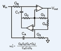 Gyrator circuit with finite non-zero transmission zeroes.png