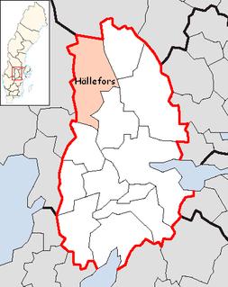 Hällefors Municipality Municipality in Örebro County, Sweden