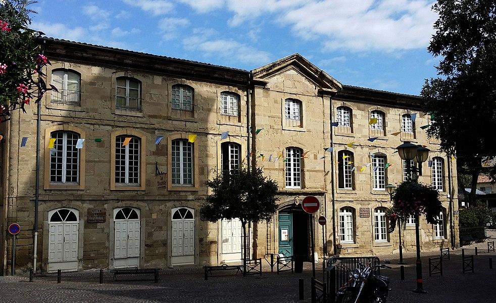 Hôtel du Marquis de la Tourette, situé à Tournon-sur-Rhône en France