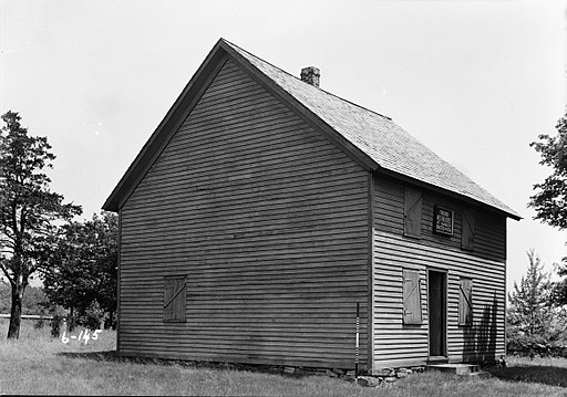 HABS R. Merritt Lacey, Photographer June 3, 1936 Friends Meetinghouse of Randolph, Dover, Morris County, NJ