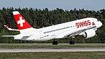 HB-JBD Swiss A220 FRA (47636628362).jpg