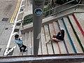 HK 灣仔 Wan Chai 聖佛蘭士街 St. Francis Street stairs near 星街 Star Street March 2020 SS2 17.jpg