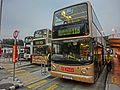 HK 觀塘碼頭巴士總站 Kwun Tong Ferry Bus Terminus Wai Yip Street n Bypass KMBus 93A 11D stop Dec-2013.JPG