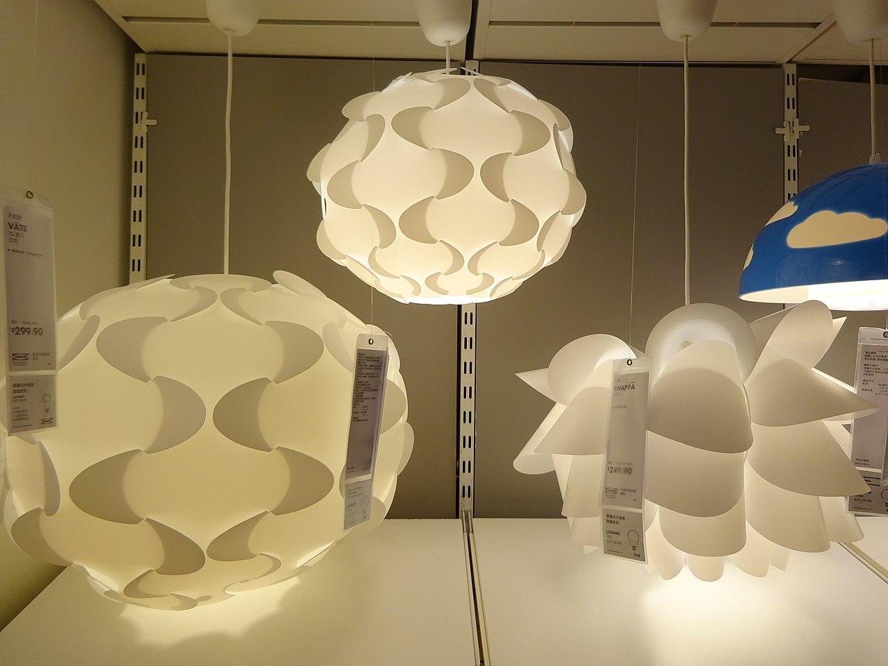 SÖdersvik Led Ceiling Lamp Ikea: File:HK CWB Park Lane Basement Shop IKEA Lighting 3