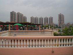 HK Gold Coast Mall Roof 03.JPG
