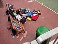 HK Hung Hom Wuhu Street Temp Playground girl friend looks after bags n belongings April 2018 LGM.jpg