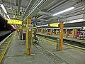 HK MTR Station 火炭站 Fo Tan platform night yellow First Class sign Nov-2013 002.JPG