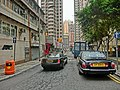 HK Sai Ying Pun South Lane 2 black cars Mar-2013.JPG