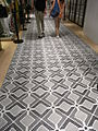 HK TST Chung King 活方商場 Woodhouse floor Carpet mosaic.JPG