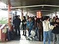 HK Tuen Mun LRT Town Centre Station walkway.JPG