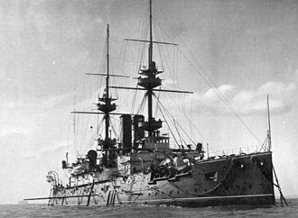 William Fane De Salis (admiral) - HMS Jupiter. De Salis was captain of this ship from 16 August 1906– 18 June 1907.
