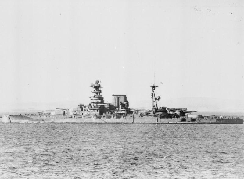 HMS Barham FL1472