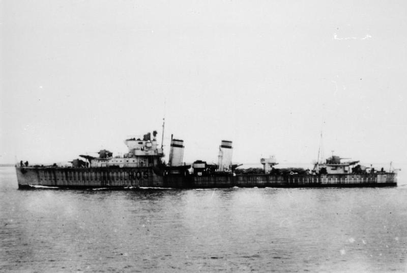 HMS Greyhound WWII FL 2766