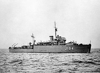 HMS Hythe (J194) - Image: HMS Hythe