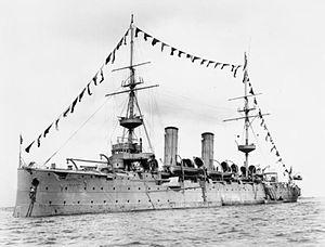 HMS Isis (1896) - Image: HMS Venus (1895) IWM Q 021897