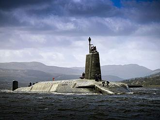 UGM-133 Trident II - Image: HMS Vigilant MOD 45157568